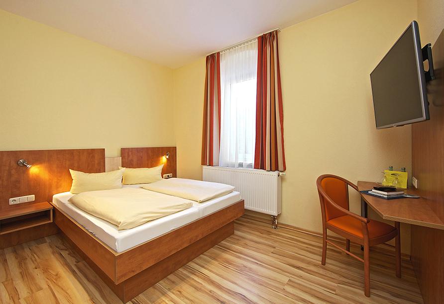 Hotel Reichskrone in Heidenau, Zimmerbeispiel