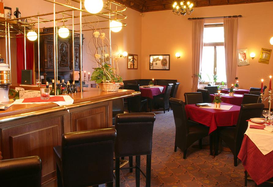 Hotel Reichskrone in Heidenau, Bar
