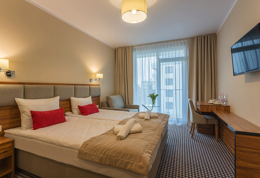 Hotel Kurhaus Koral Live, Zimmerbeispiel