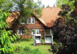 CAREA Ferien- & Reitsport-Hotel Brunnenhof in Suhlendorf in der Lüneburger Heide, Außenansicht