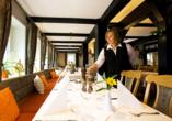 CAREA Ferien- & Reitsport-Hotel Brunnenhof in Suhlendorf in der Lüneburger Heide, Restaurant