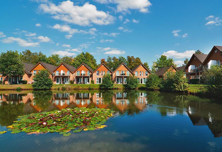 Eurostrand Resort Lüneburger Heide, Fintel, Außenansicht