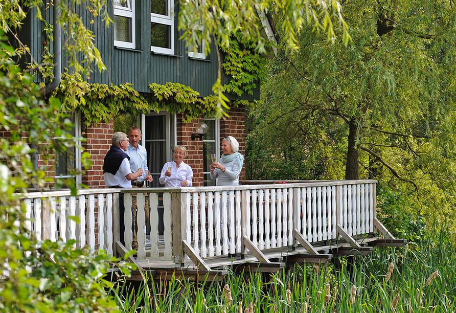 Eurostrand Resort Lüneburger Heide, Fintel, Terrasse