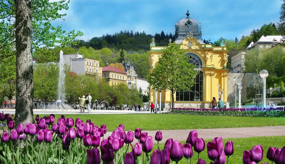 Schlosshotel Marienbad, Kolonnade
