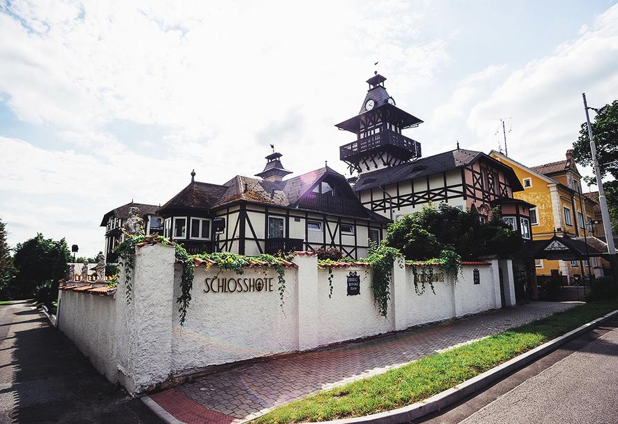 Schlosshotel Marienbad, Außenansicht