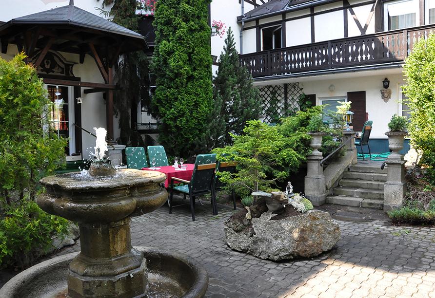 Schlosshotel Marienbad, Garten