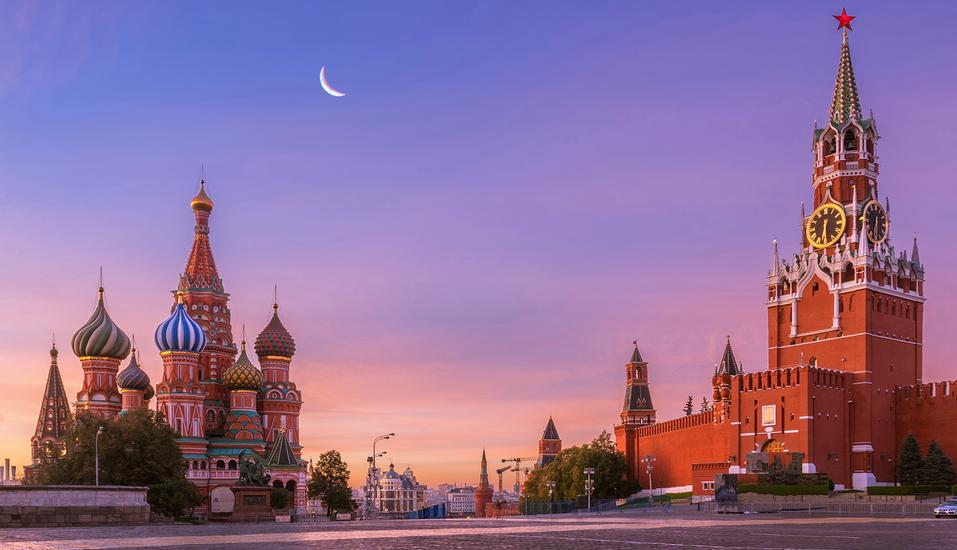 Moskau & St. Petersburg, Roter Platz Moskau