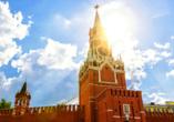 Moskau & St. Petersburg, Erlöserturm