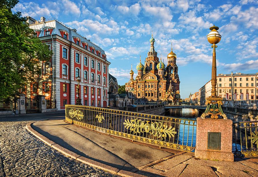 Moskau & St. Petersburg, Auferstehungskirche St. Petersburg