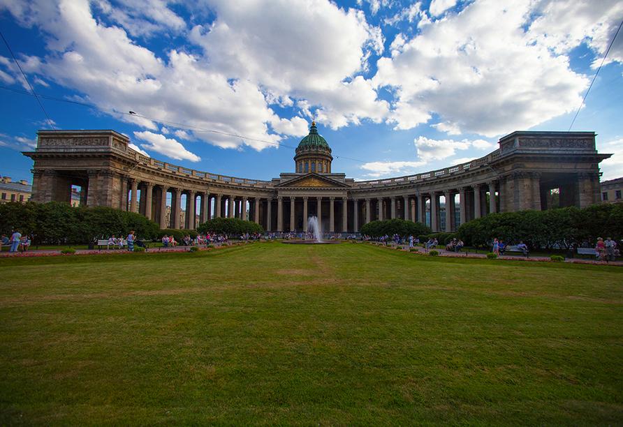 Moskau & St. Petersburg, Kasener Kathedrale St. Petersburg