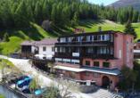 Hotel Sonnenhalde in Davos Wiesen, Außenansicht