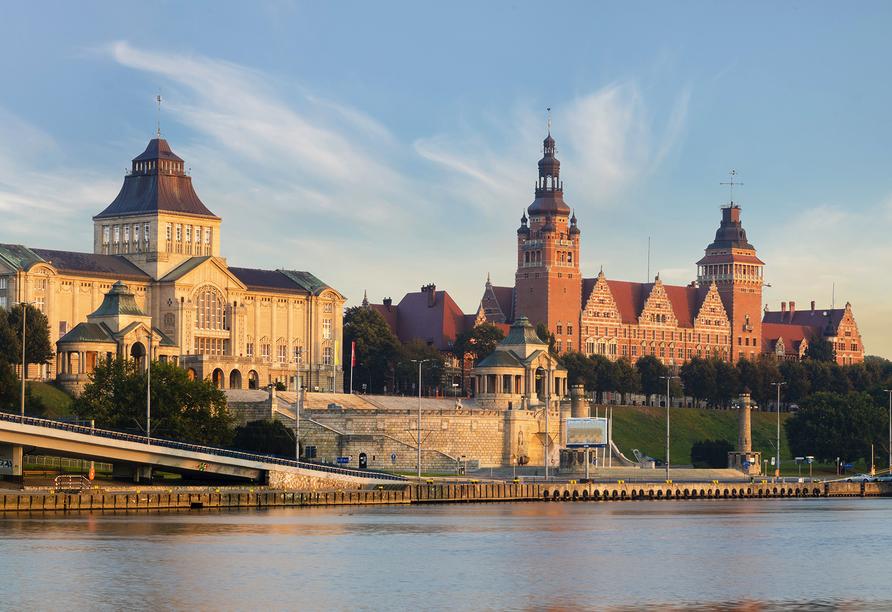 Hotel Panorama in Stettin, Hakenterrasse