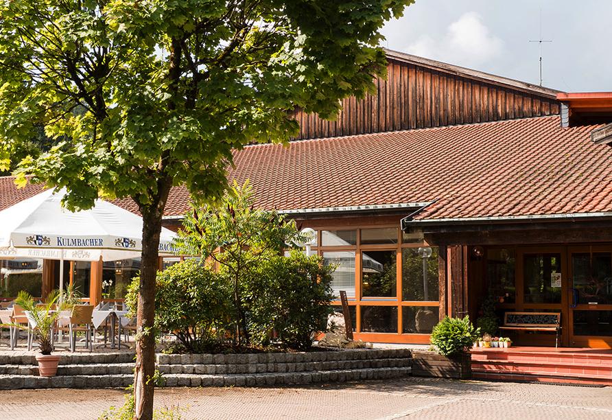 WAGNERS Hotel und Restaurant im Frankenwald in Steinwiesen, Eingang