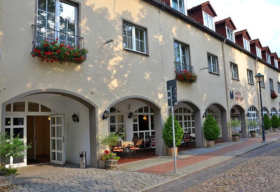 Landhaus Wörlitzer Hof, Außenansicht