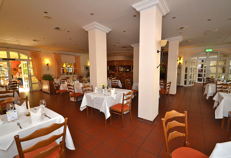 Landhaus Wörlitzer Hof, Restaurant