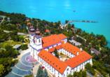 Rundreise entlang Ungarns Highlights, Tihany, Kloster