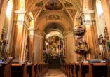 Rundreise entlang Ungarns Highlights, Tihany, Abtei