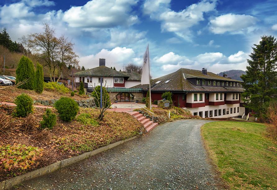 Panorama Hotel Winterberg, Außenansicht