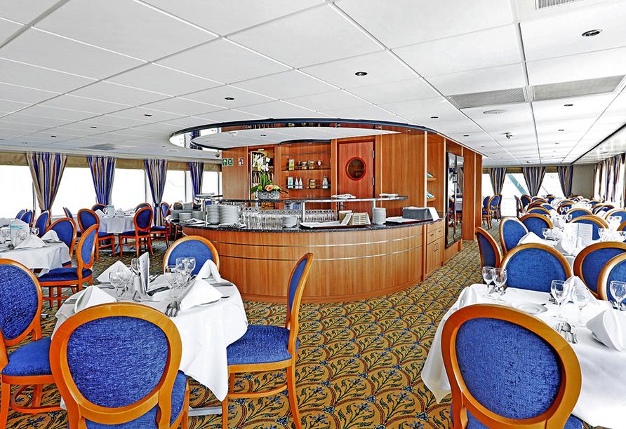 MS Aurelia, Panorama-Restaurant