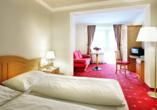 Hotel Ferienwelt Kristall in Rauris im Salzburger Land Zimmerbeispiel