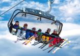 Hotel Ferienwelt Kristall in Rauris im Salzburger Land, Skilift