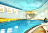Hotel Ferienwelt Kristall in Rauris im Salzburger Land Innenpool