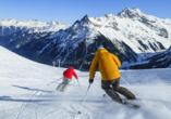 Hotel Ferienwelt Kristall in Rauris im Salzburger Land, Skifahren