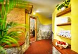 Hotel Ferienwelt Kristall in Rauris im Salzburger Land Wellnessbereich
