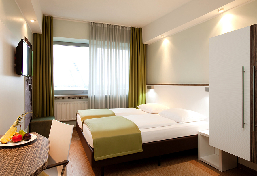 Hotel Sportforum in Rostock, Zimmerbeispiel