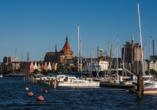 Hotel Sportforum in Rostock, Hafen