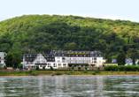 Rheinhotel Vier Jahreszeiten, Außenansicht