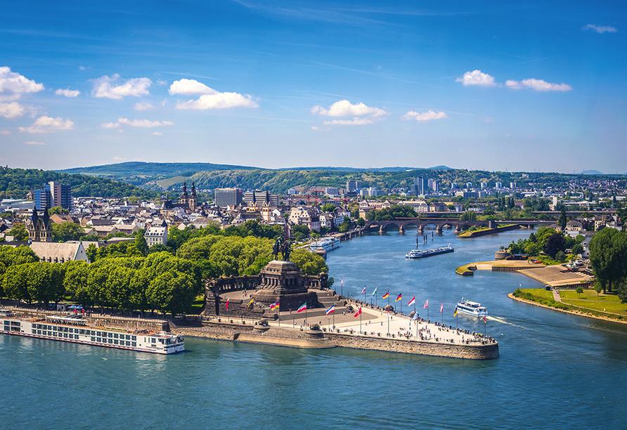 Rheinhotel Vier Jahreszeiten, Koblenz