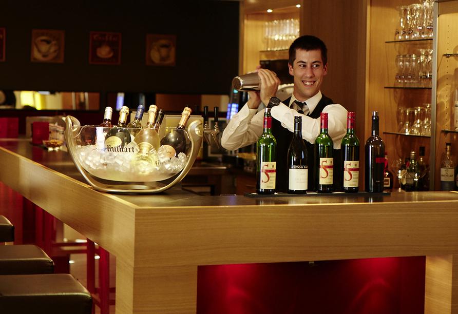 Hotel Stempferhof in Gössweinstein Fränkische Schweiz, Bar