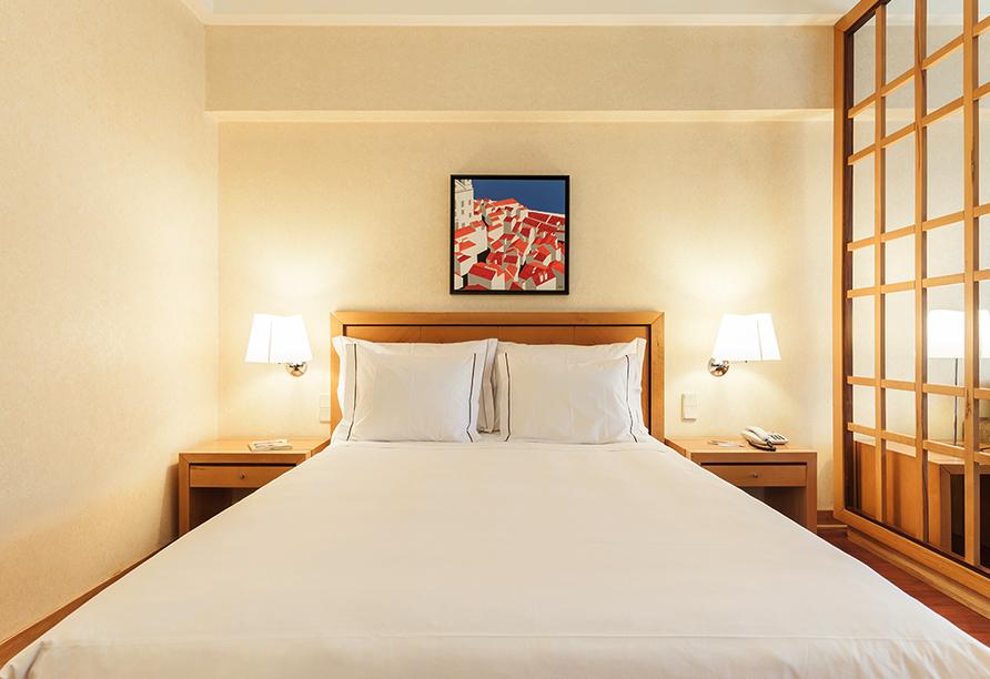 Zimmerbeispiel im Hotel Roma