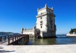 In Lissabon kommen Sie in den Genuss der traditionell portugiesischen Pastel de Nata.