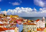 Entdecken Sie die wunderschöne Altstadt von Lissabon.