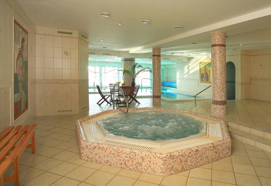 Hotel Praha in Gottesgab im Erzgebirge in Tschechien, Whirlpool