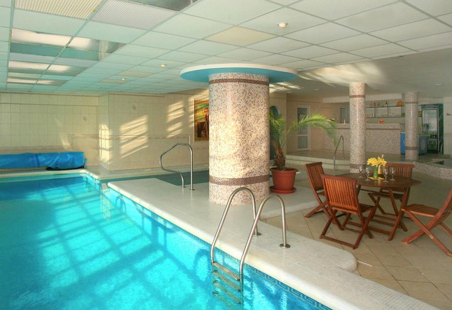 Hotel Praha in Gottesgab im Erzgebirge in Tschechien, Wellnessbereich