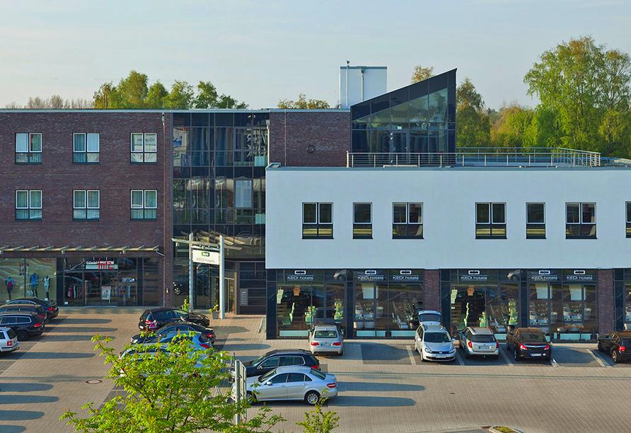 Hotel Kedi in Papenburg, Außenansicht