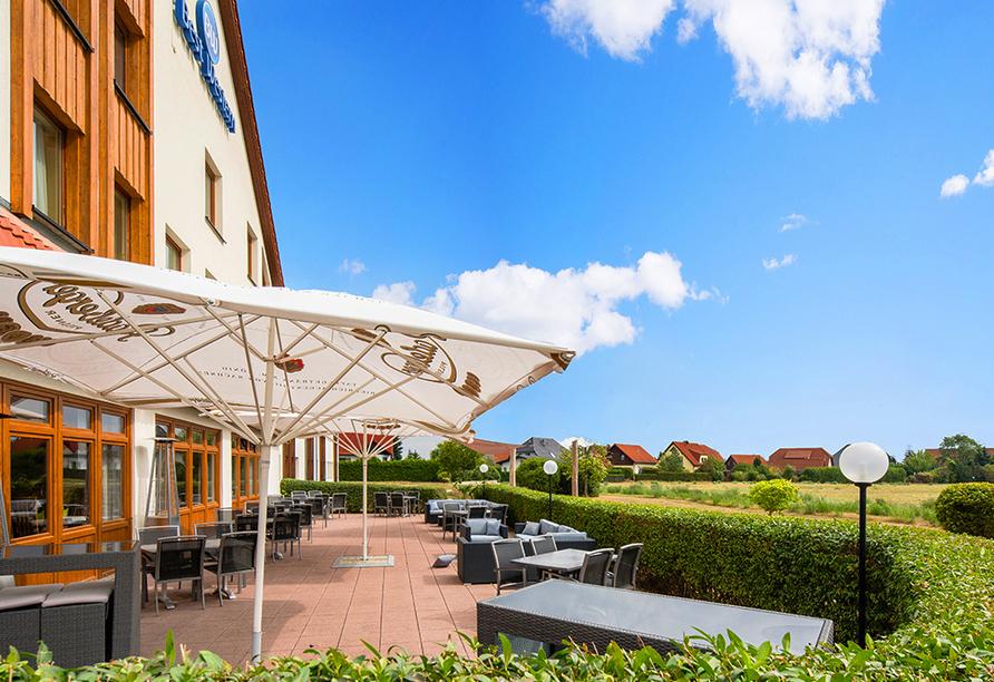 Best Western Hotel Erfurt-Apfelstädt, Terrasse