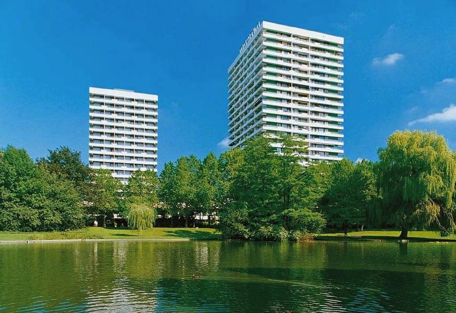 Maritim Hotel Gelsenkirchen Ruhrgebiet, Außenansicht