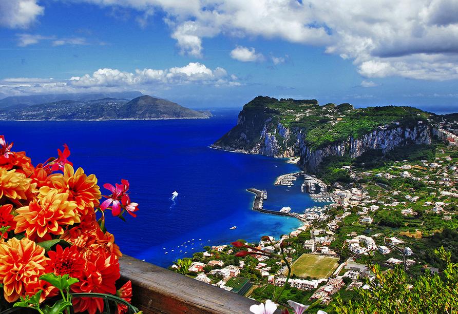 Golf von Neapel, Ischia, Capri, Amalfiküste, Landschaft Capri