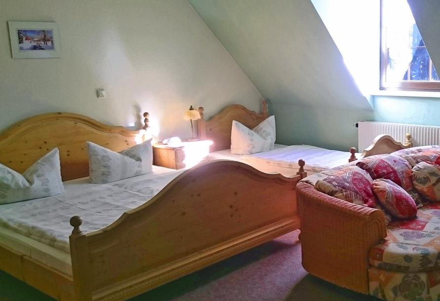 Landhotel Osterlamm, Zimmer