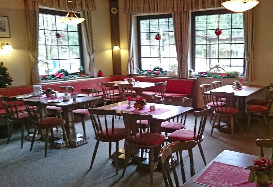 Landhotel Osterlamm, Restaurant