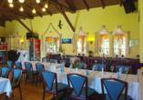 Seehotel Karlslust in Storkow/Mark in Brandenburg, Restaurant
