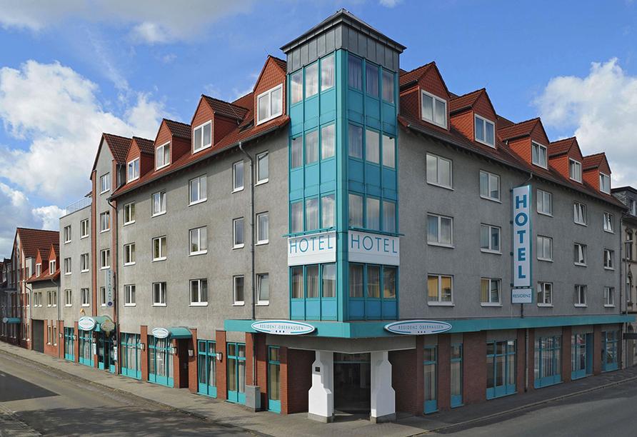 Residenz Hotel Oberhausen, Außenansicht