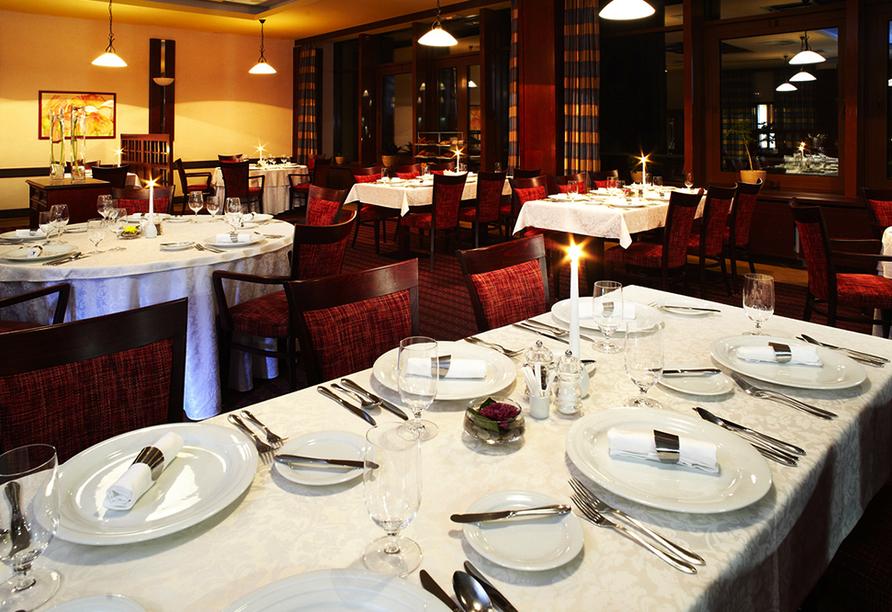 OREA Vital Hotel Sklár in Harrachov im Riesengebirge Restaurant