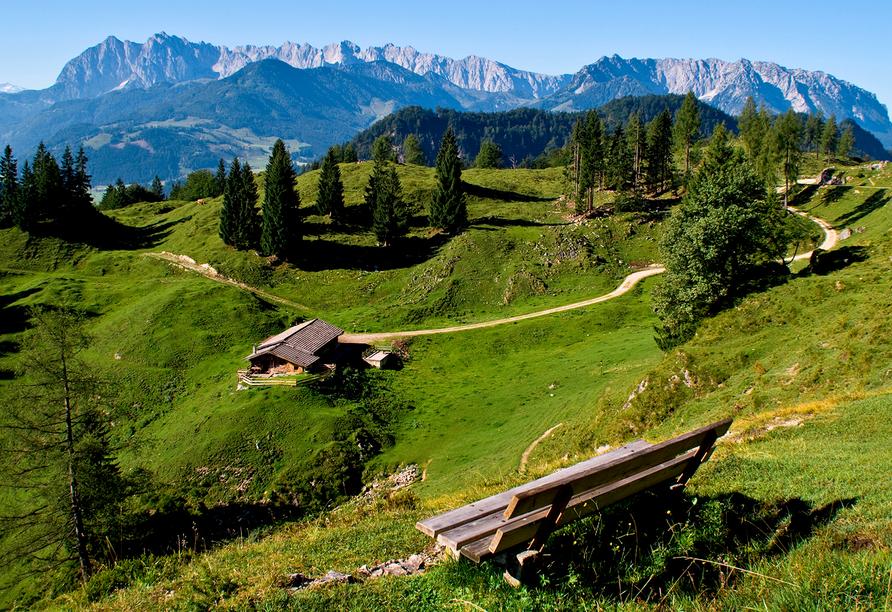 Landgasthof Astner Münster Tirol, Naturpanorama