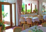 Hotel Im Kräutergarten in Cursdorf im Thüringer Wald, Restaurant