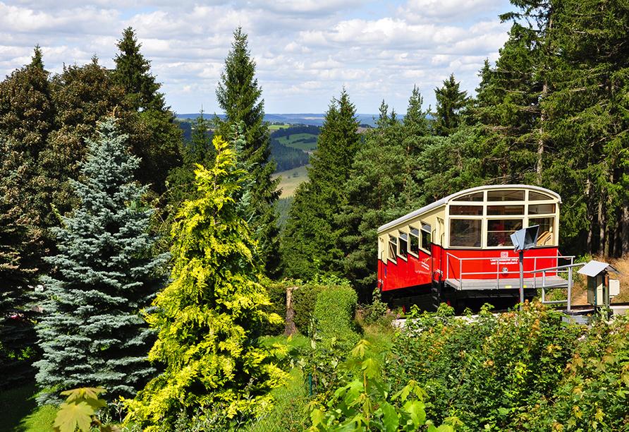 Hotel Im Kräutergarten in Cursdorf im Thüringer Wald, Bergbahn